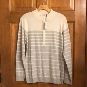 Merino Wool Golf Sweater